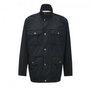 Barbour Bringham waterproof jacket navy